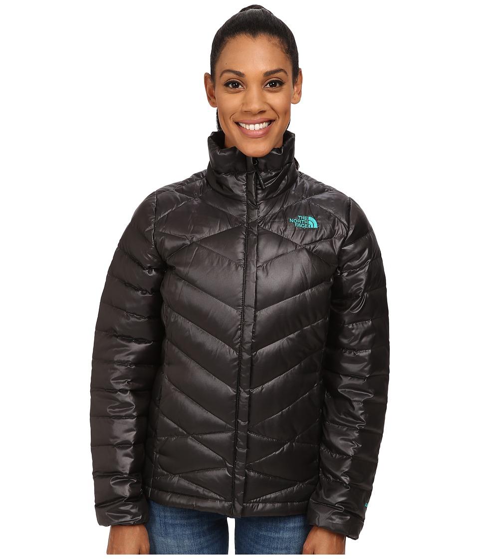 The North Face Aconcagua Jacket (TNF Black/Kokomo Green) Women