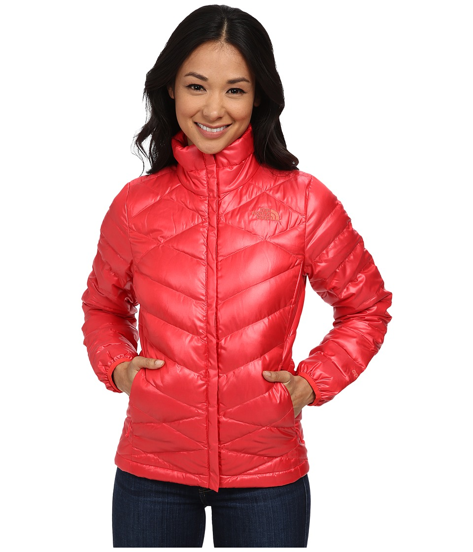 The North Face - Aconcagua Jacket (Melon Red) Women's Coat