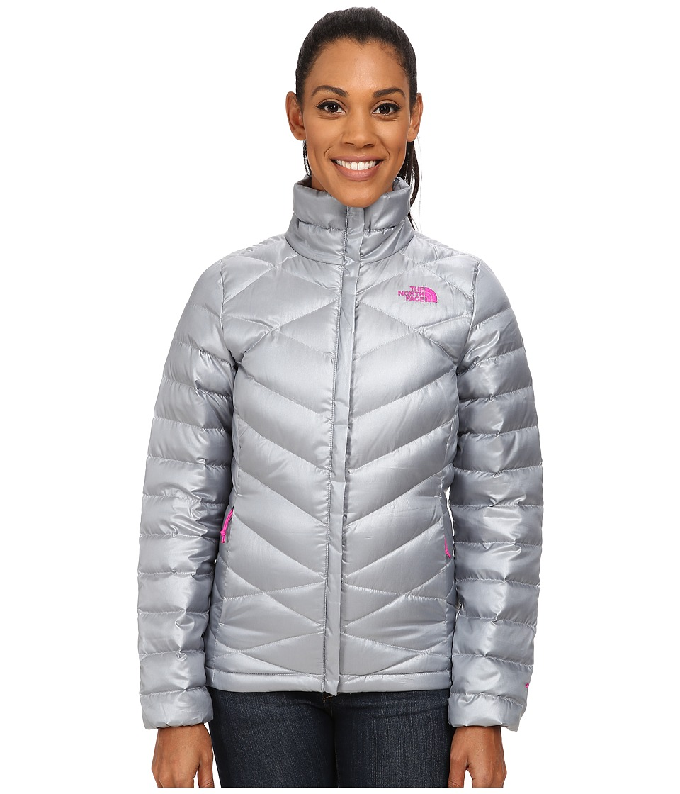 The North Face Aconcagua Jacket (Mid Grey/Luminous Pink) Women