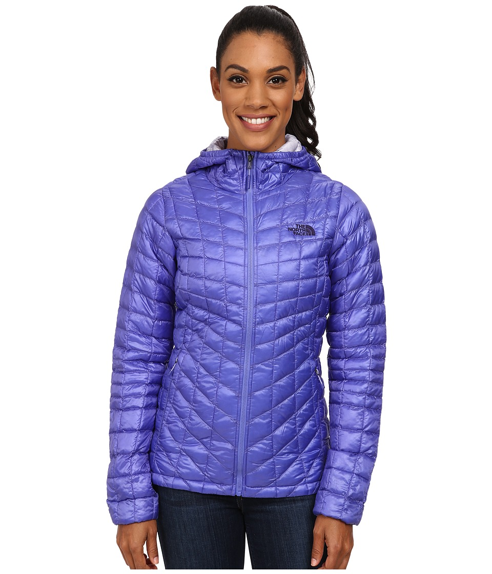 The North Face - ThermoBall Hoodie (Starry Purple) Women's Coat