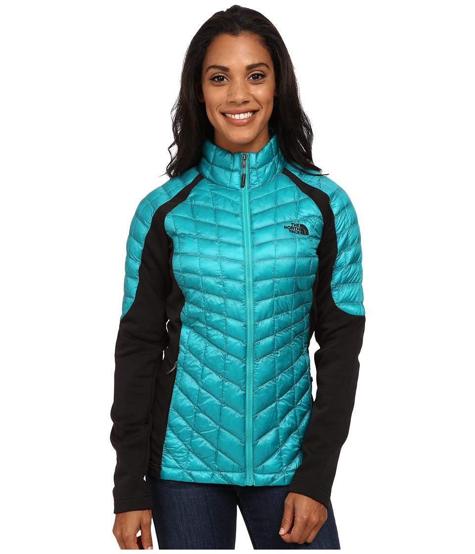 The North Face Momentum ThermoBall Hybrid Jacket (Kokomo Green/TNF Black) Women
