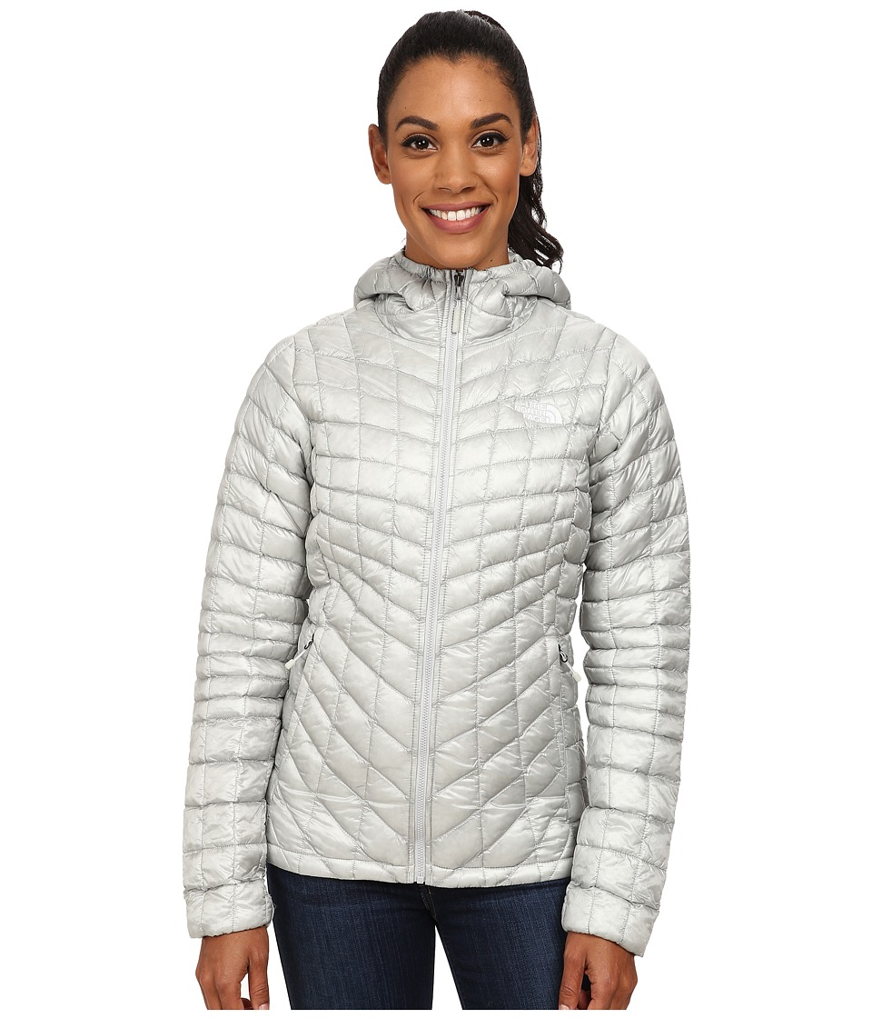 The North Face - ThermoBall Hoodie (High Rise Grey) Women's Coat