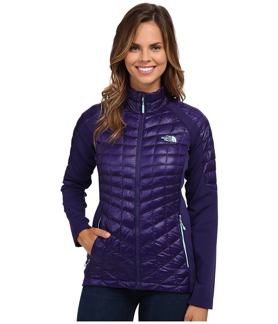 The North Face - Momentum ThermoBall Hybrid Jacket (Garnet Purple/Garnet Purple) Women's Coat