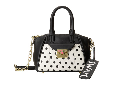 Betsey Johnson - Kiss Marks The Spot Crossbody (Cream) Cross Body Handbags