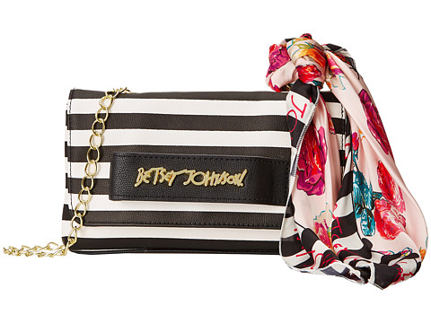 Betsey Johnson - Ladies Who Lunch Crossbody (Stripe) Cross Body Handbags