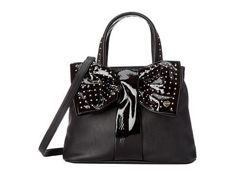 Betsey Johnson - Bow Tie Shopper (Black) Handbags