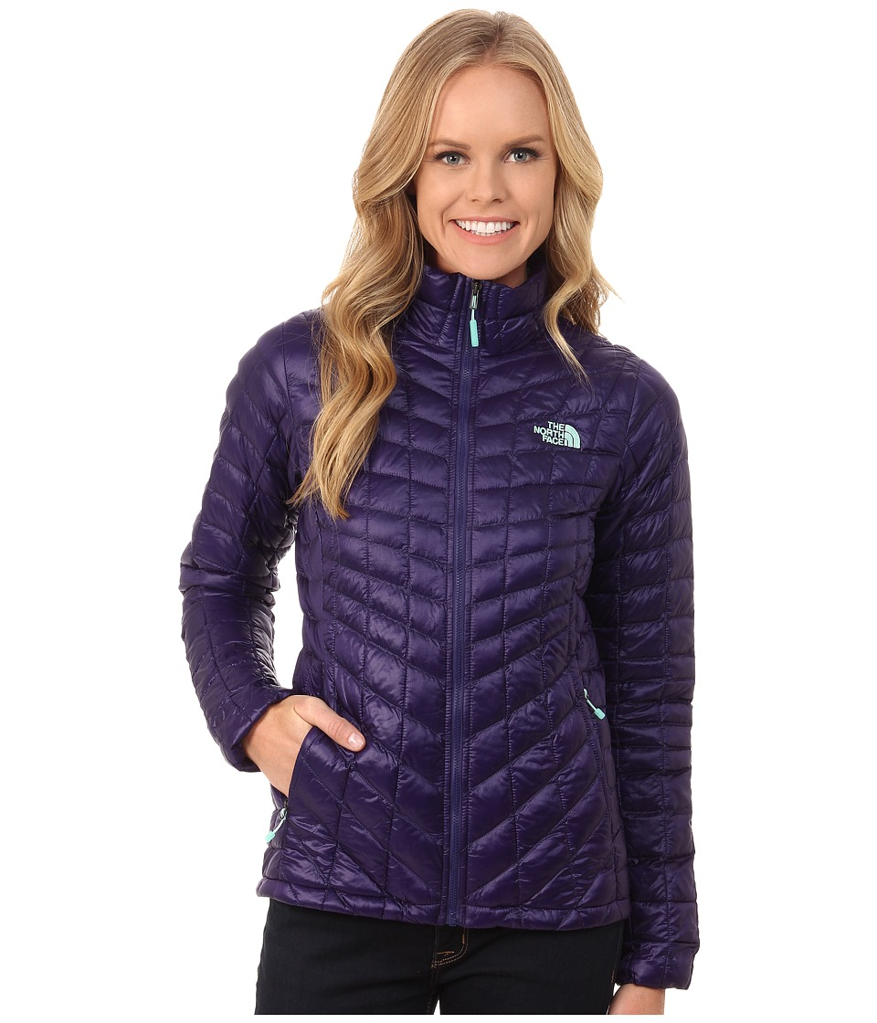 The North Face - ThermoBall Full Zip Jacket (Garnet Purple) Women's Coat