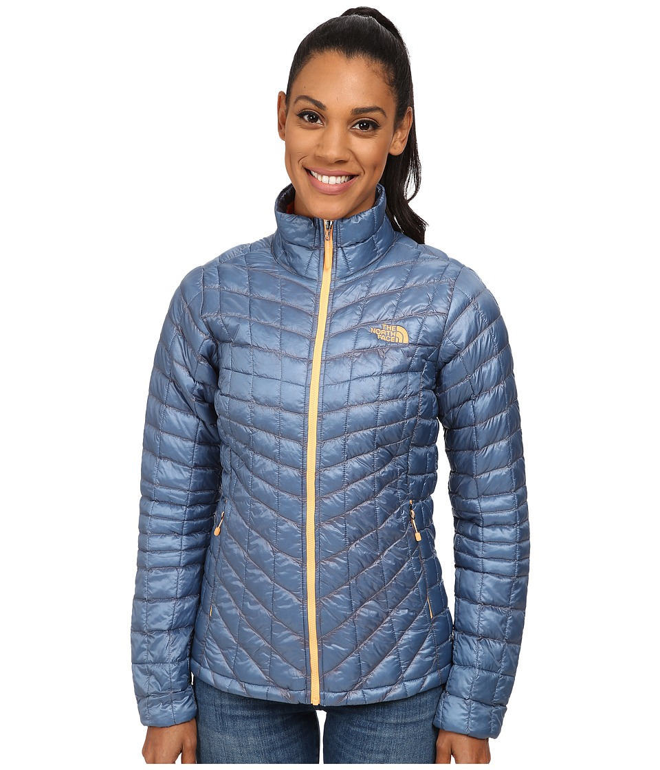 The North Face ThermoBall Full Zip Jacket (Cool Blue) Women