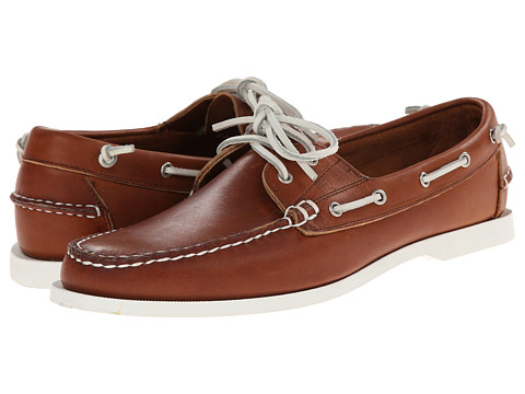 Ralph Lauren Collection - Telford (Light Brown) Men's Slip on Shoes