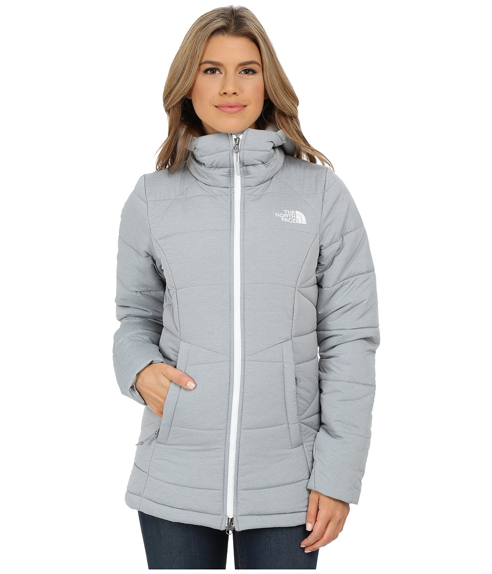 The North Face - Roamer Parka (Mid Grey Heather) Women's Coat