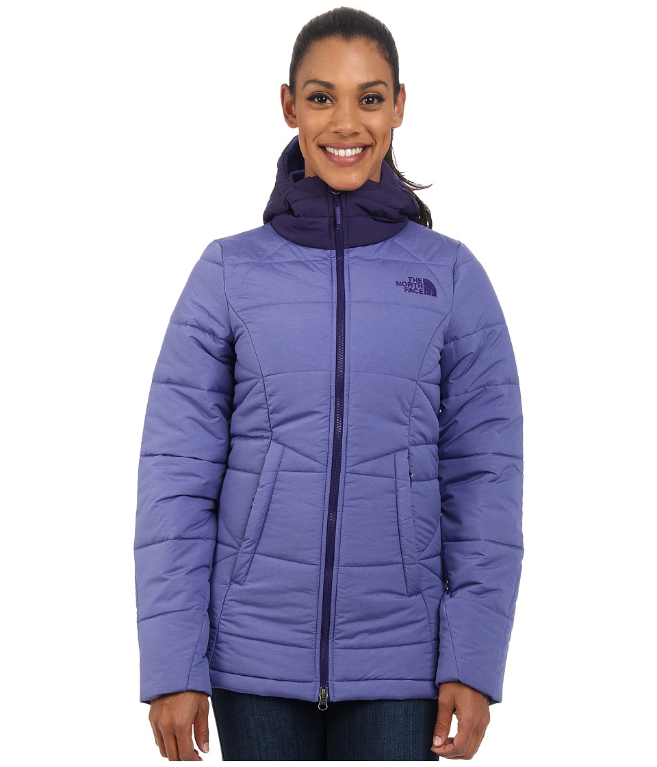 The North Face - Roamer Parka (Starry Purple Heather/Purple Garnet) Women's Coat
