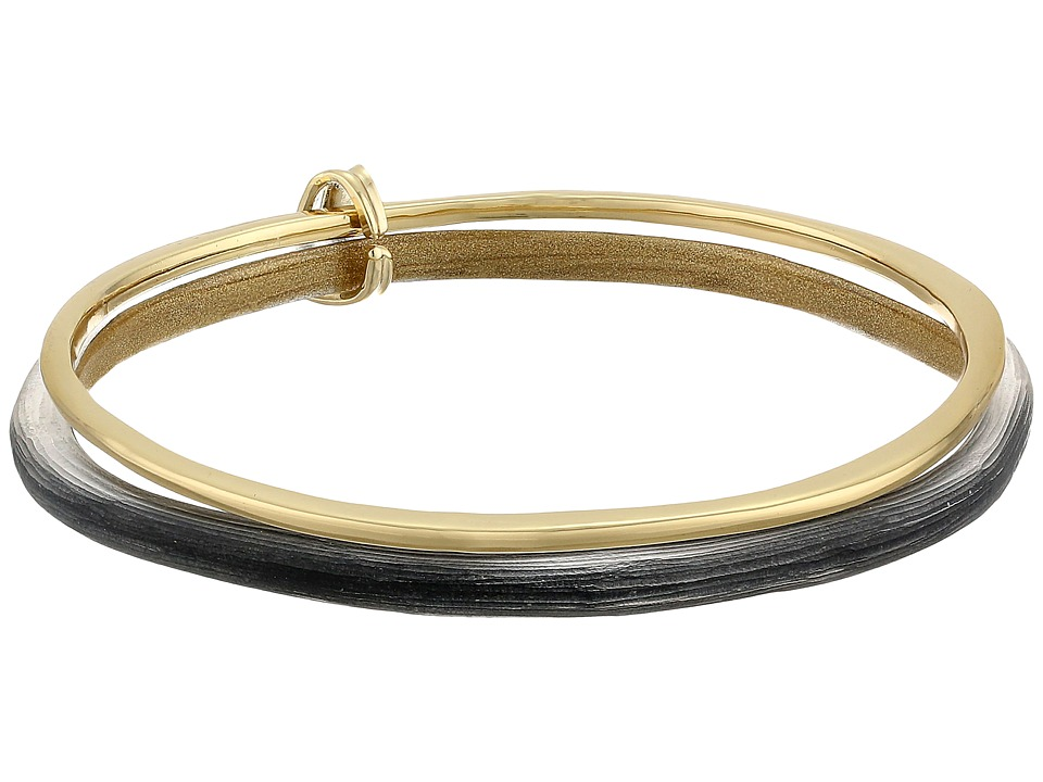 Alexis Bittar - Liquid Metal Paired Bangle Bracelet (Black) Bracelet