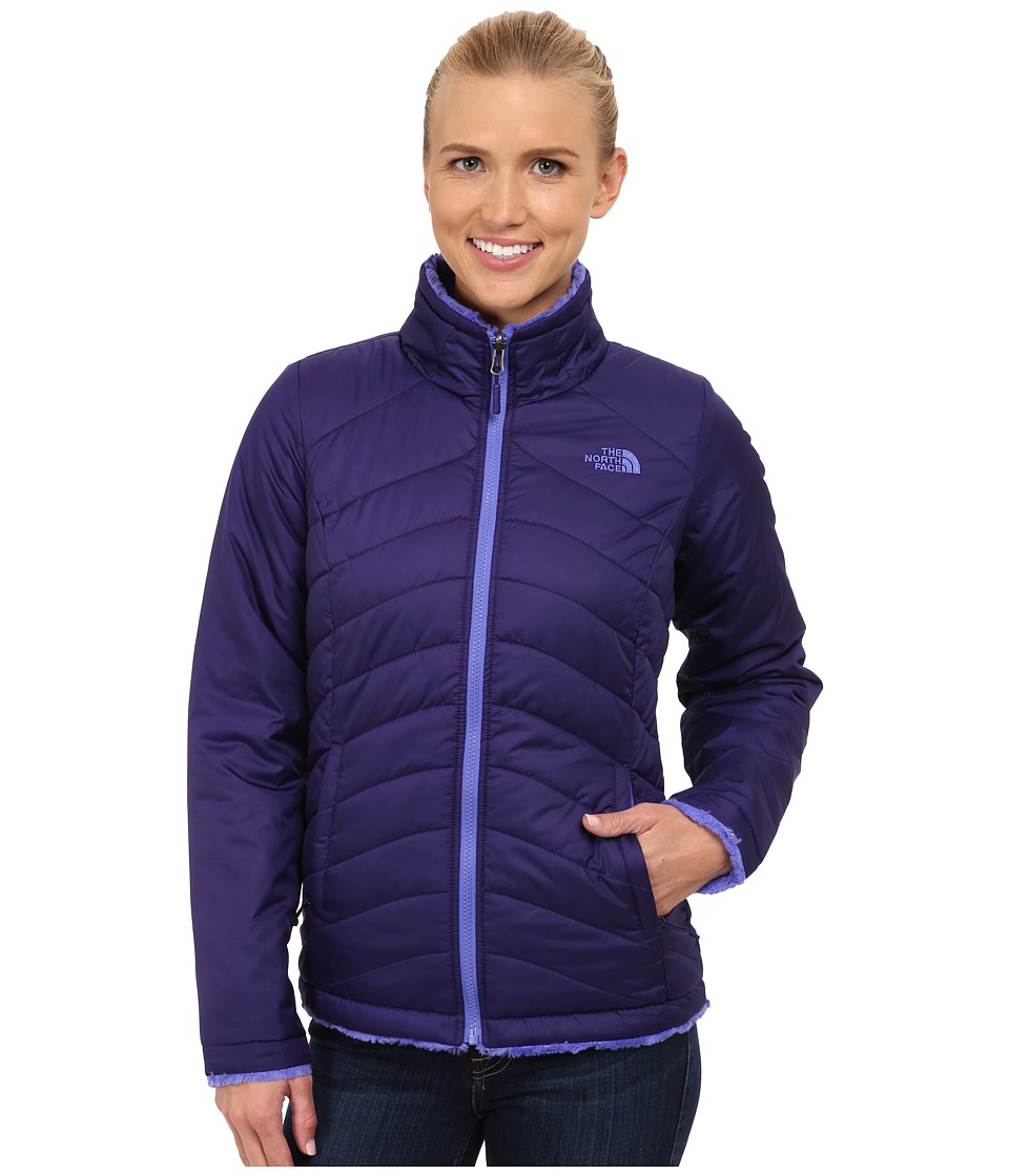 The North Face - Mossbud Swirl Reversible Jacket (Garnet Purple/Starry Purple) Women's Coat