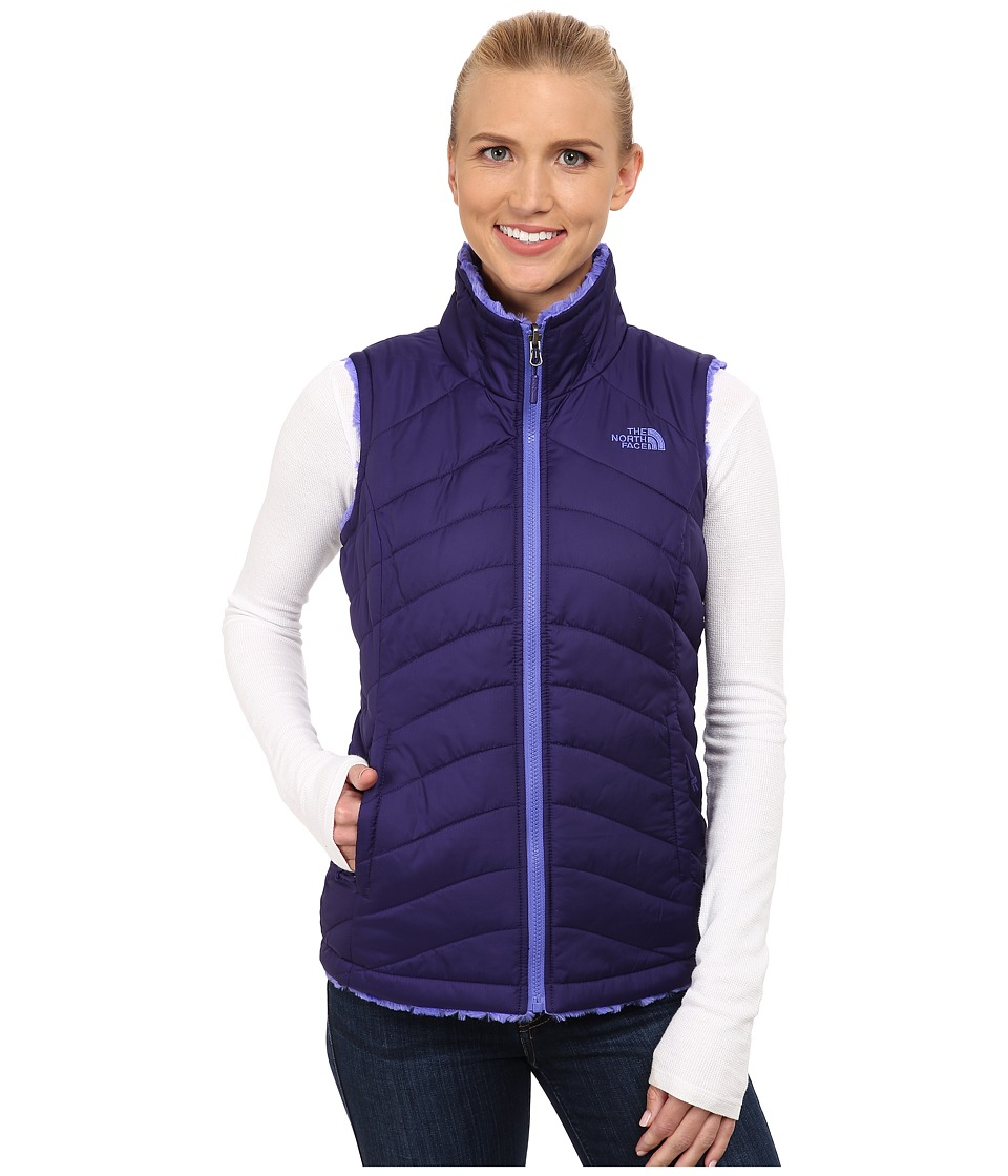 The North Face - Mossbud Swirl Reversible Vest (Garnet Purple/Starry Purple) Women