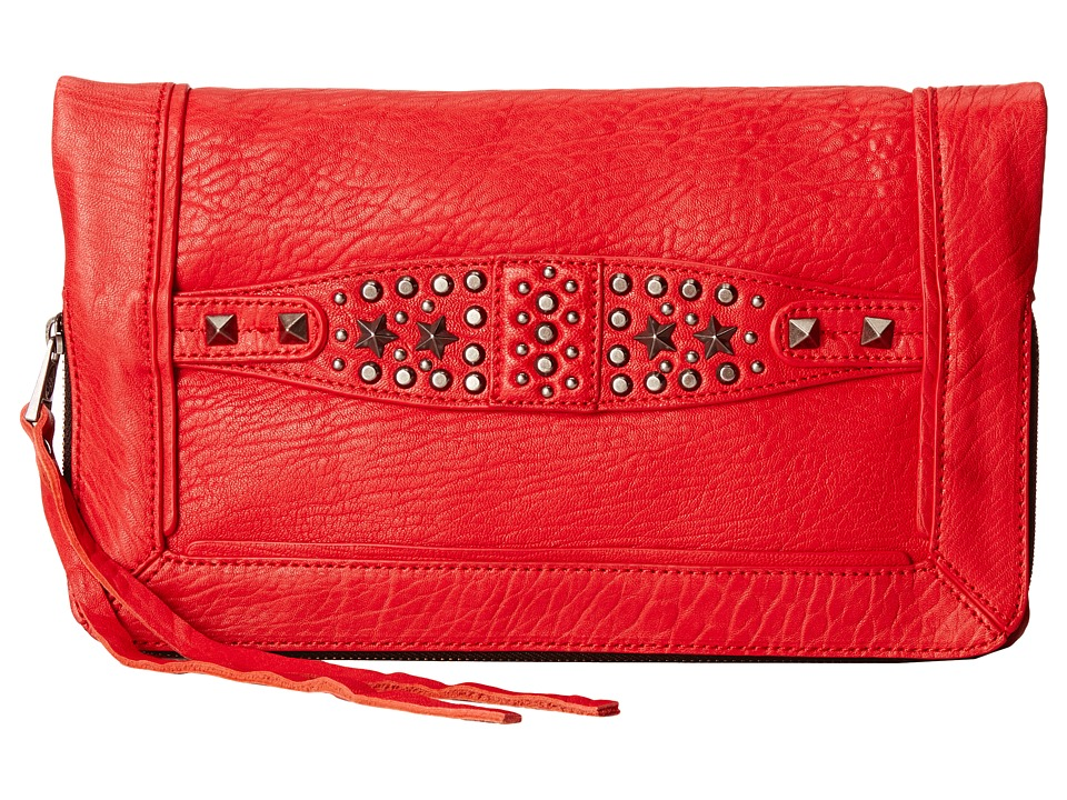 ASH - Jax- Clutch (Red) Clutch Handbags