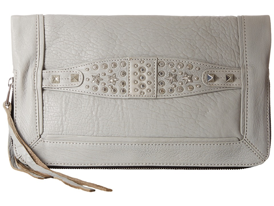ASH - Jax- Clutch (Stone Grey) Clutch Handbags
