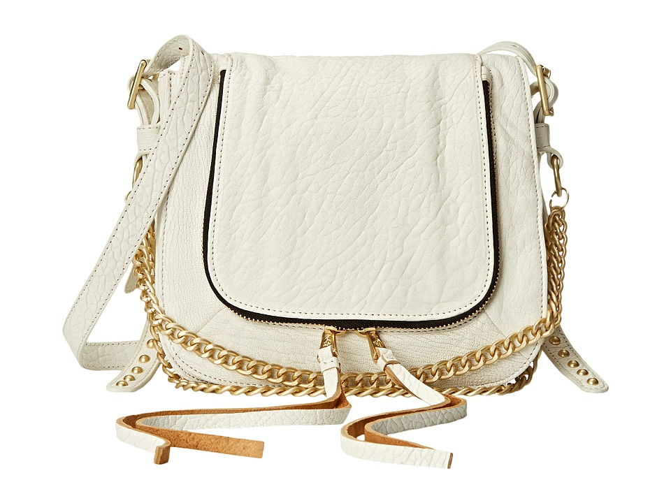 ASH - Jax- Crossbody (White) Cross Body Handbags