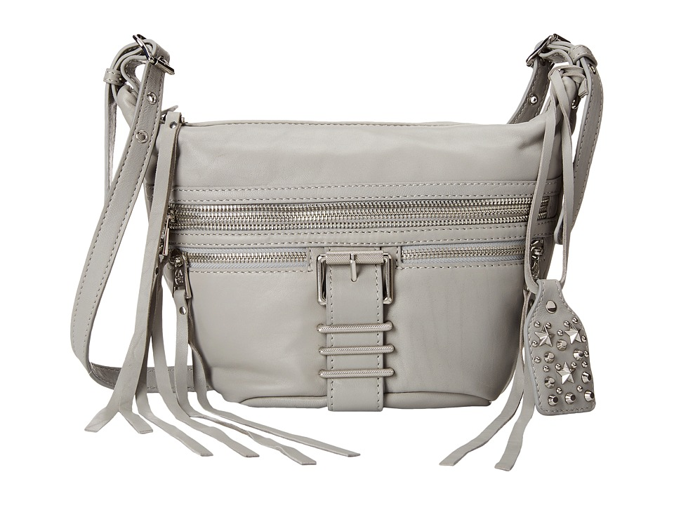 ASH - Maze- Crossbody (Stone Grey/Tarnish Silver) Cross Body Handbags