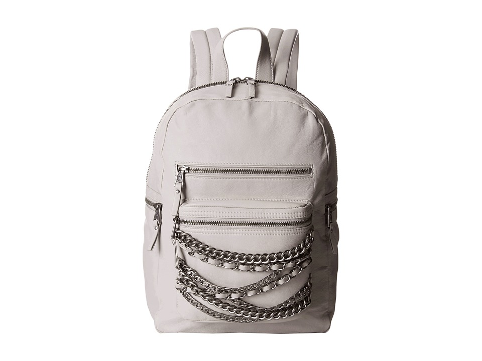 ASH - Domino Chain- Small Backpack (Stone Grey/Tarnish Silver) Backpack Bags