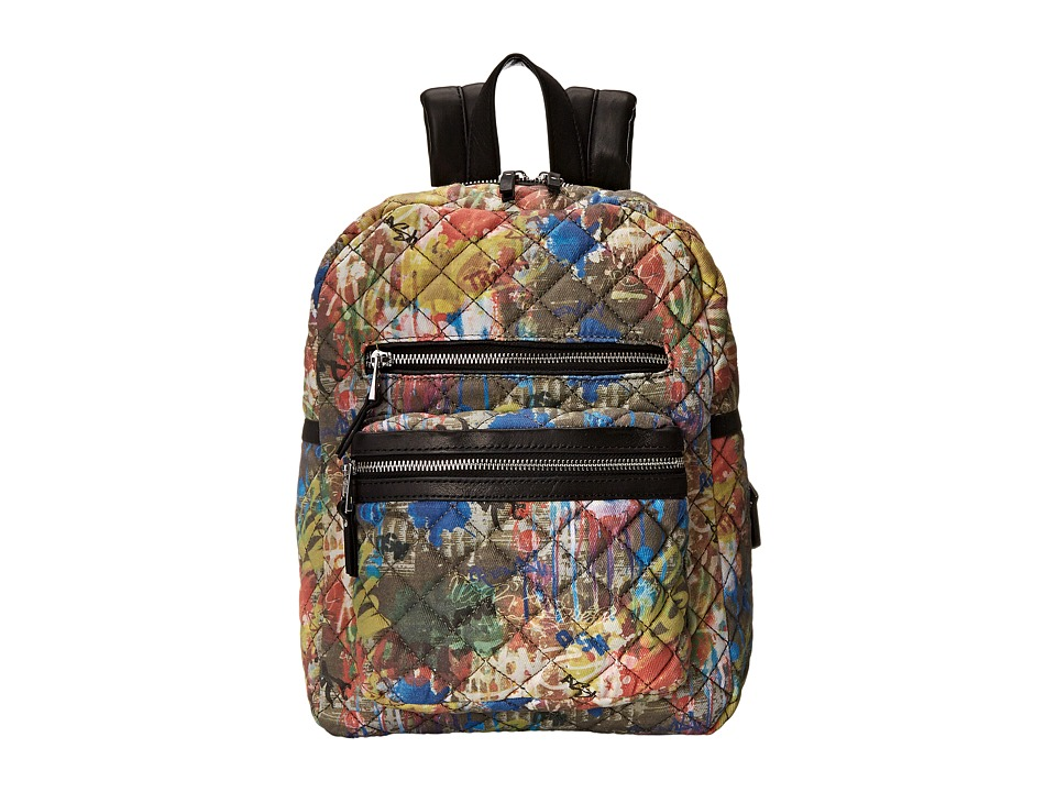 ASH - Danica Graffiti- Small Backpack (Multi Graffiti Paint) Backpack Bags