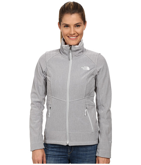 The North Face - Apex Chromium Thermal Jacket (High Rise Grey Heather) Women's Coat