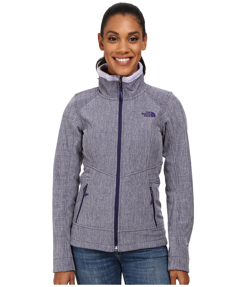 The North Face - Apex Chromium Thermal Jacket (Garnet Purple Heather) Women's Coat