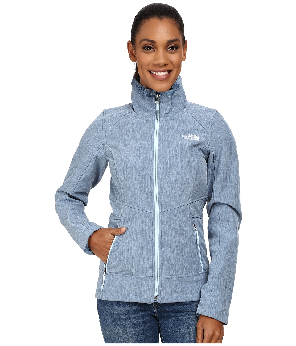 The North Face - Apex Chromium Thermal Jacket (Cool Blue Heather) Women's Coat