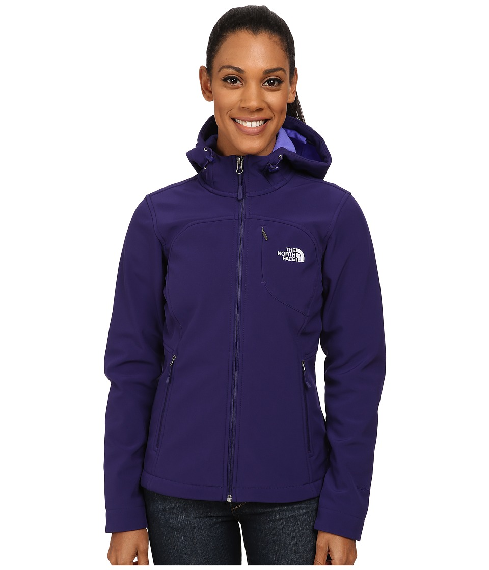 The North Face - Apex Bionic Hoodie (Garnet Purple) Women's Coat