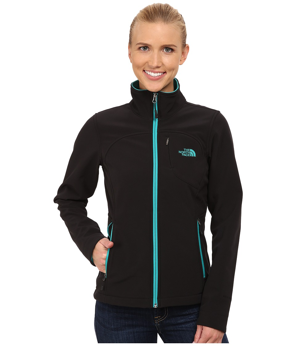 The North Face - Apex Bionic Jacket (TNF Black/Kokomo Green) Women's Coat