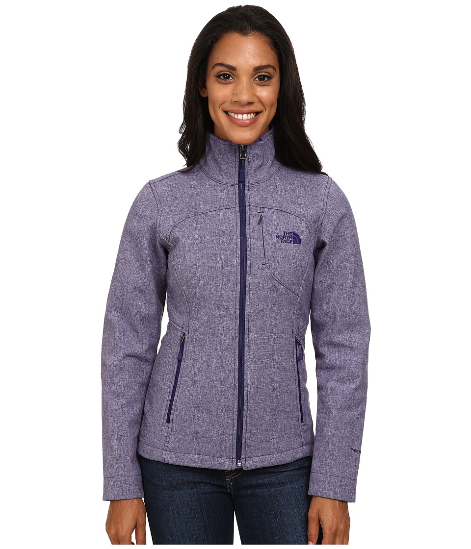 The North Face - Apex Bionic Jacket (Garnet Purple Heather) Women's Coat