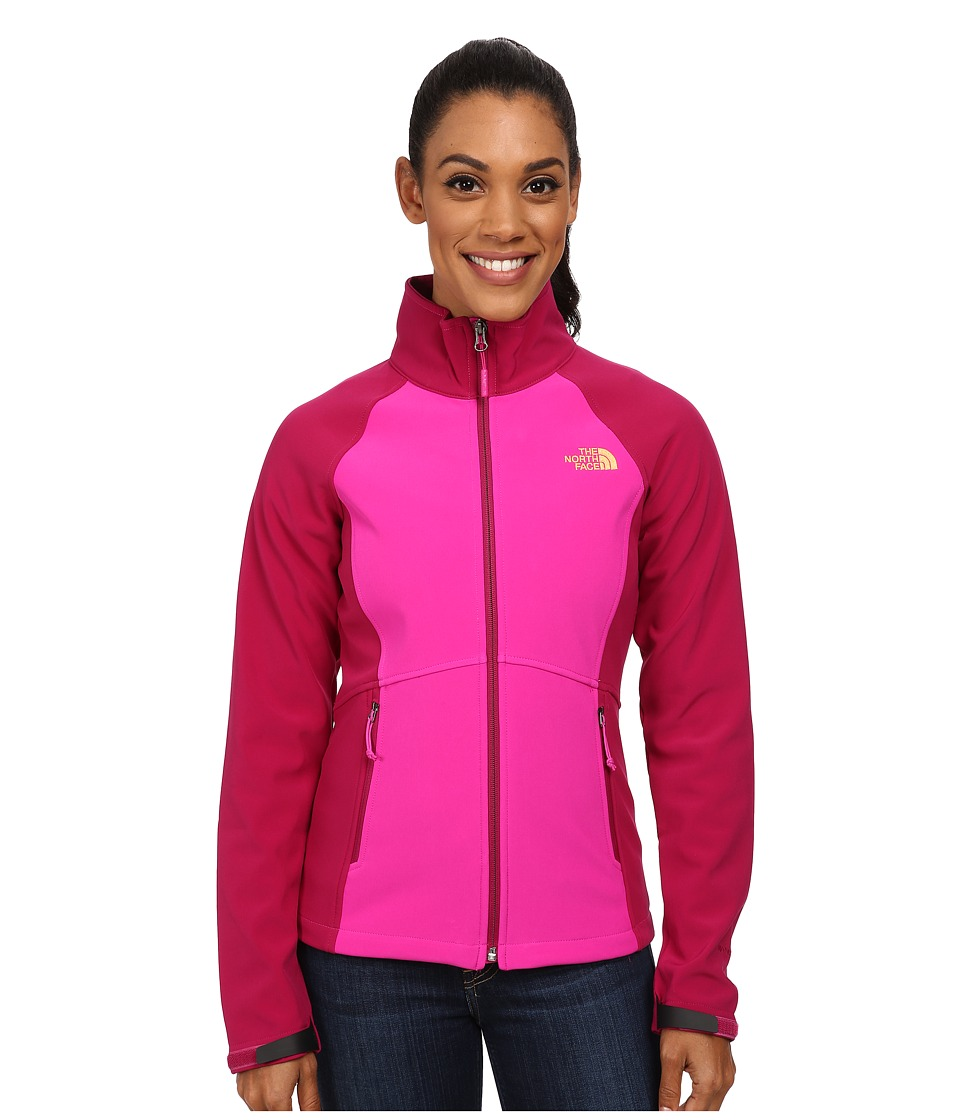 The North Face - Shellrock Jacket (Luminous Pink/Dramatic Plum) Women's Jacket