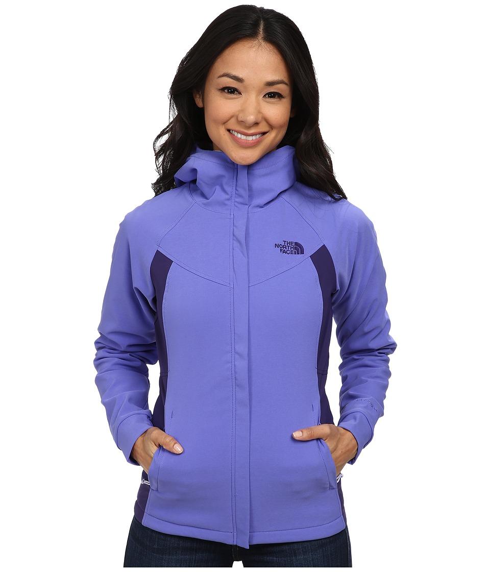 The North Face - Maddie Raschel Hoodie (Starry Purple/Garnet Purple) Women's Coat