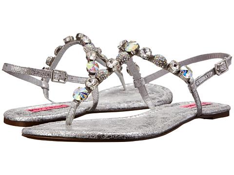 Betsey Johnson - Gemmyy (Silver Multi) Women's Sandals