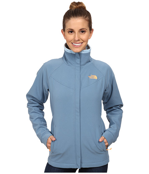 The North Face - Ruby Raschel Jacket (Cool Blue/Cool Blue) Women