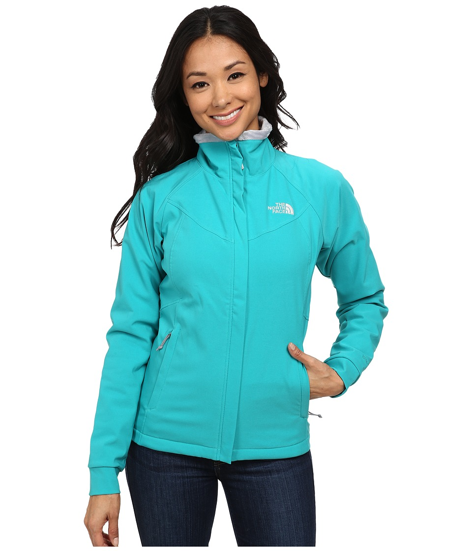 The North Face - Ruby Raschel Jacket (Kokomo Green/Kokomo Green) Women's Coat