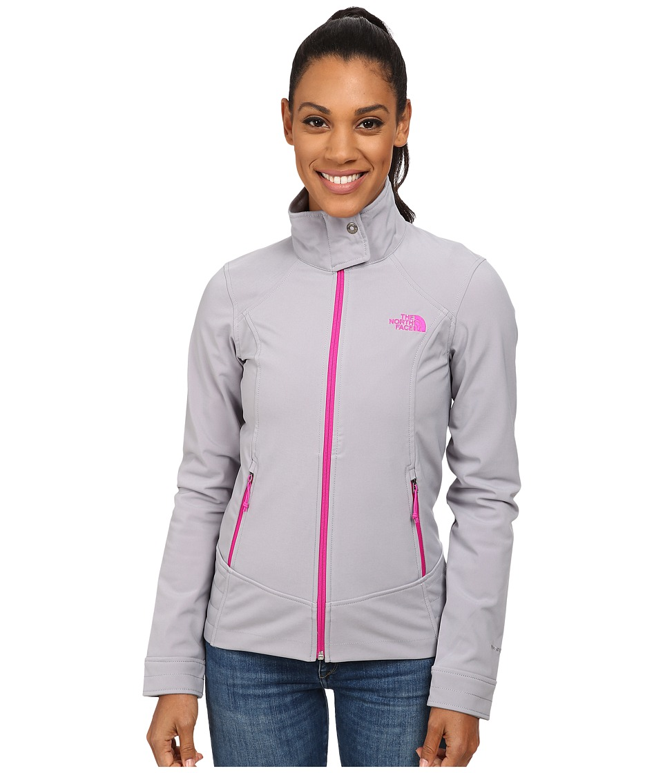 The North Face - Calentito 2 Jacket (Mid Grey/Luminous Pink) Women