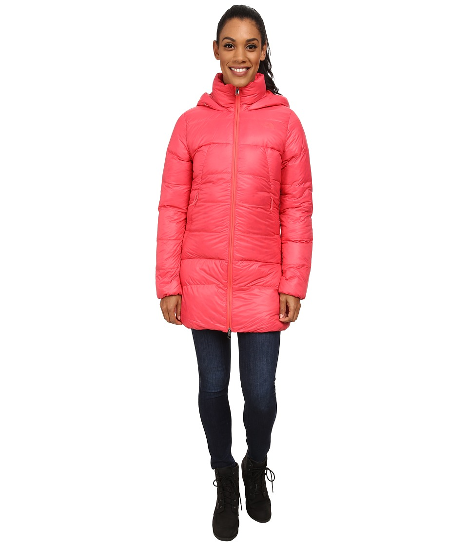 The North Face - Polar Journey Parka (Snowcone Red) Women's Coat