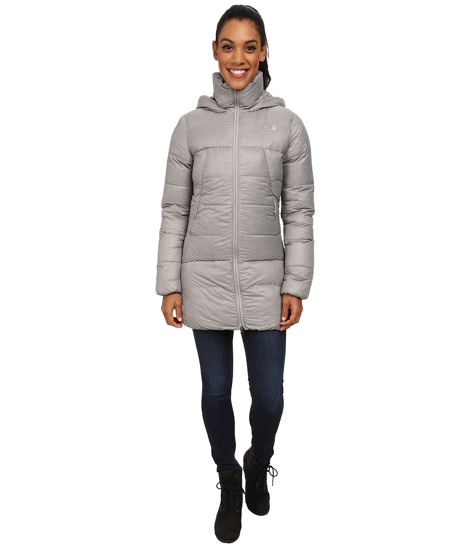 The North Face - Polar Journey Parka (Metallic Silver) Women's Coat