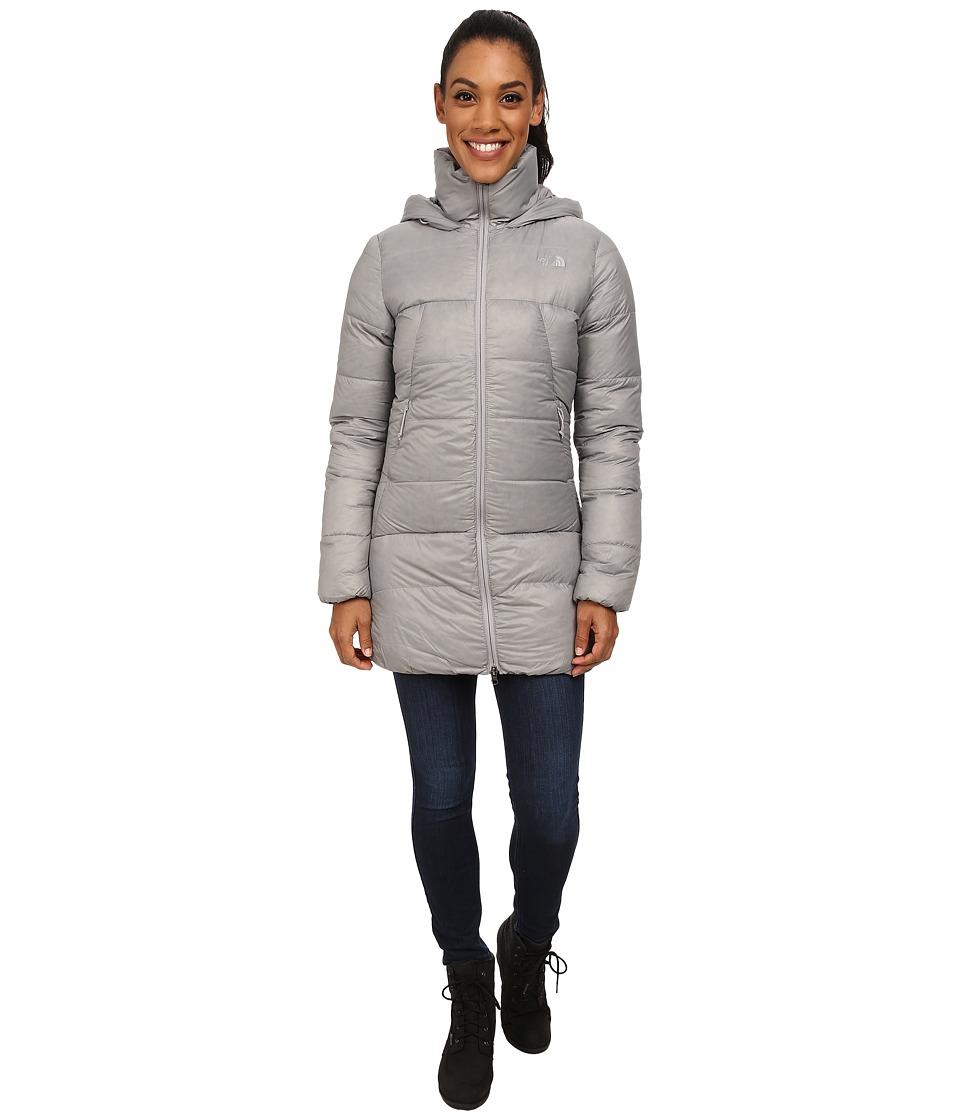 The North Face - Polar Journey Parka (Metallic Silver) Women's Coat