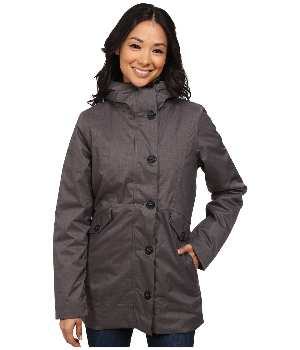 The North Face - Aleiana Triclimate Jacket (Graphite Grey Melange) Women's Coat