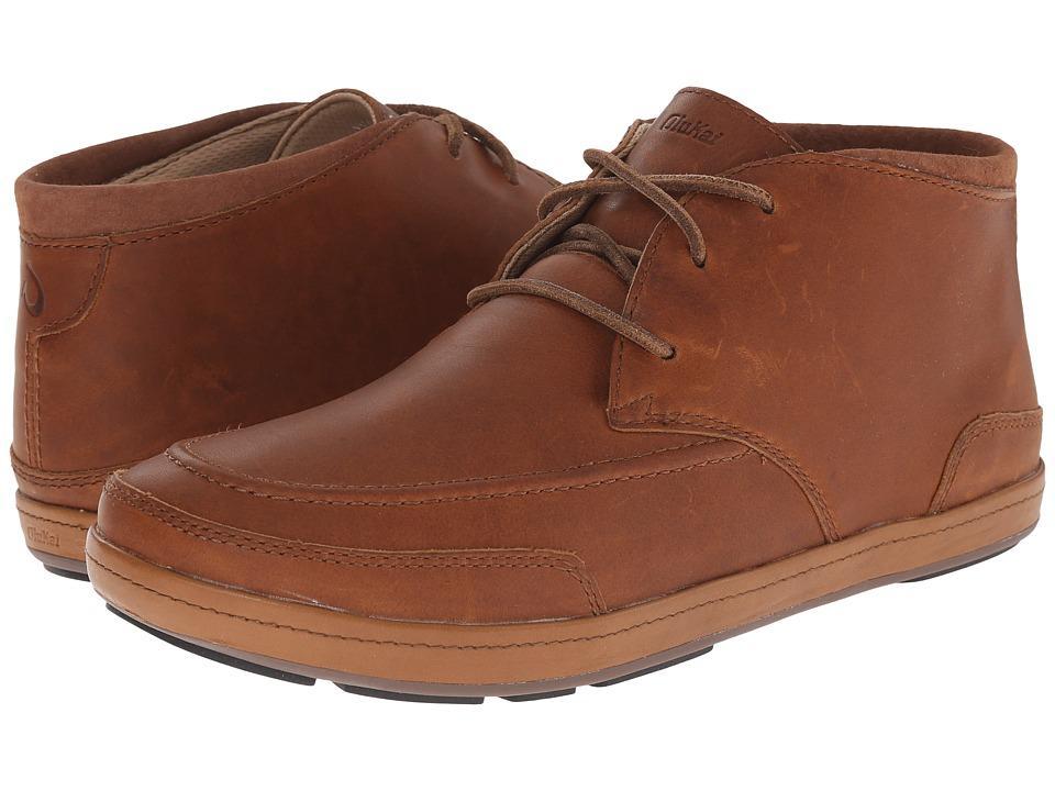OluKai - Pala (Rum/Ecru) Men's Lace up casual Shoes