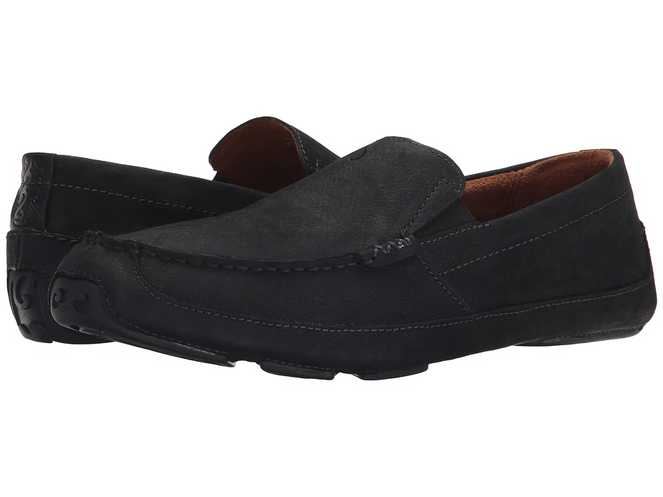 OluKai - Akepa Moc (Onyx/Onyx) Men's Shoes