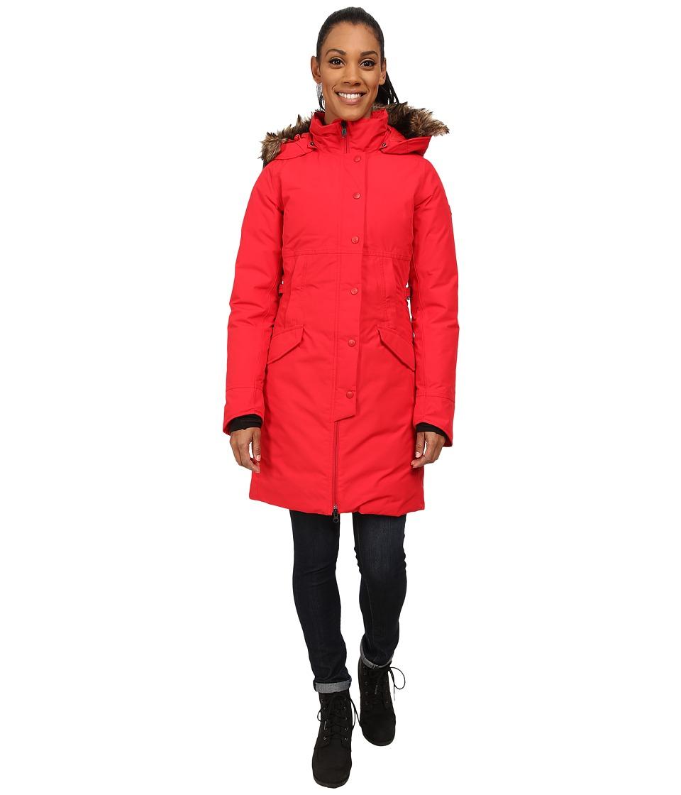 The North Face - Shavana Parka (TNF Red) Women's Coat