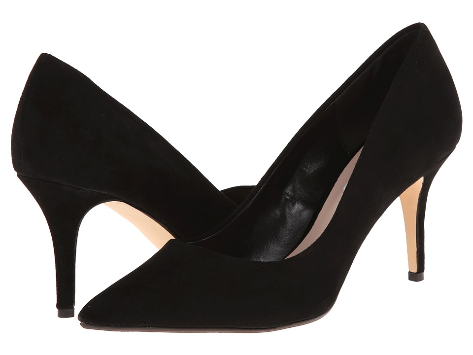 Dune London - Alina (Black Suede) High Heels
