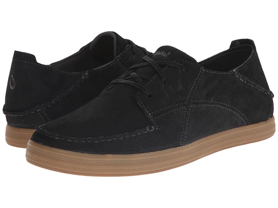 OluKai - Pahono (Black/Black) Men's Shoes