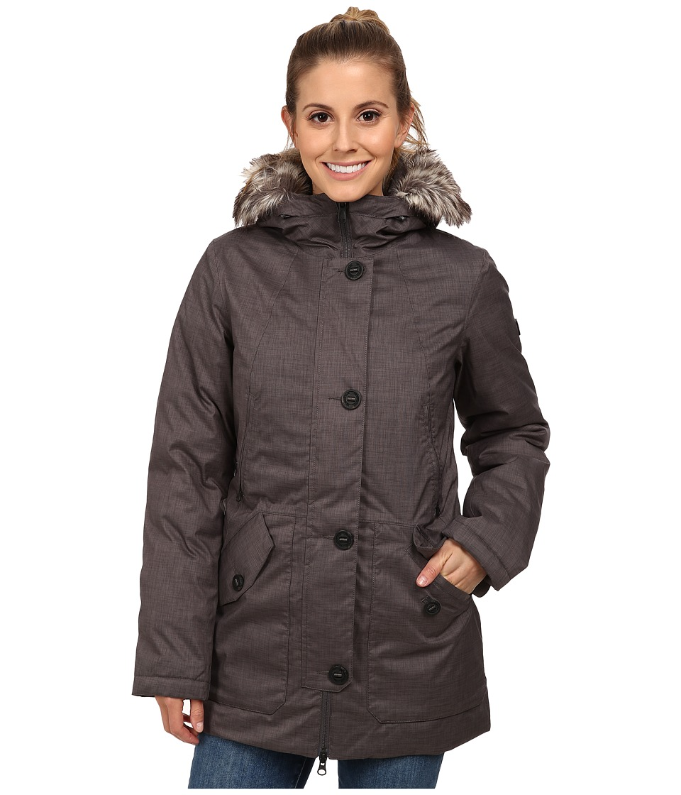 The North Face - Mauna Kea Parka (Graphite Grey Melange) Women's Coat