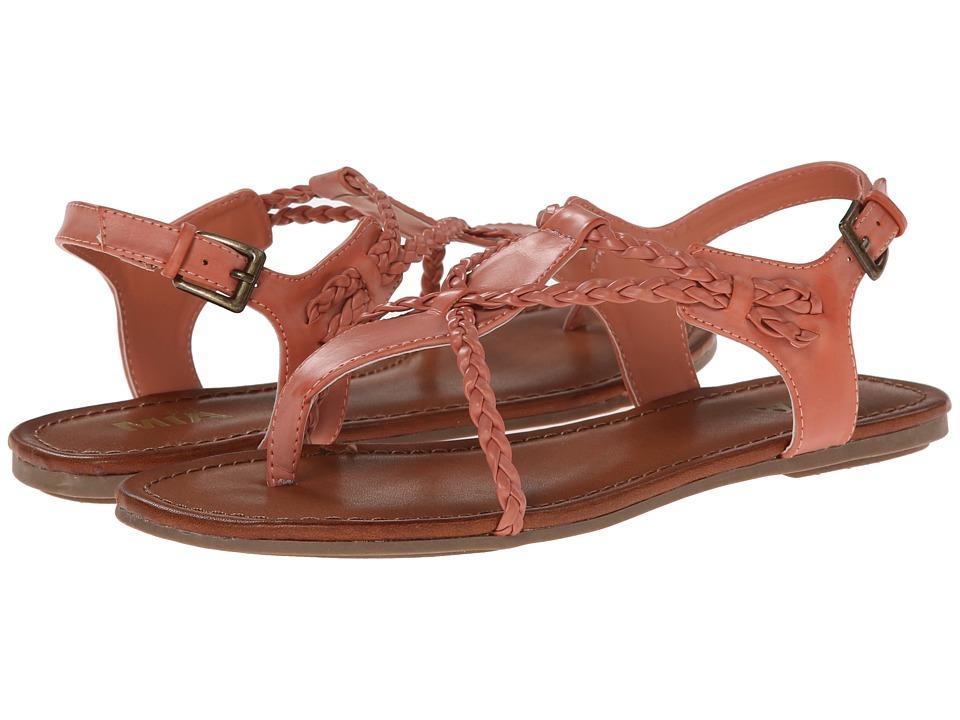 MIA - Casta (Coral) Women's Toe Open Shoes