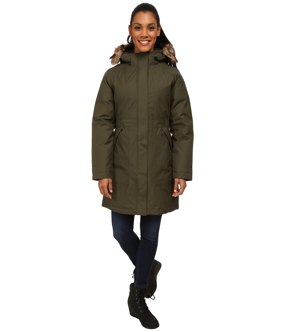 The North Face - Arctic Parka (Forest Night Green) Women's Coat