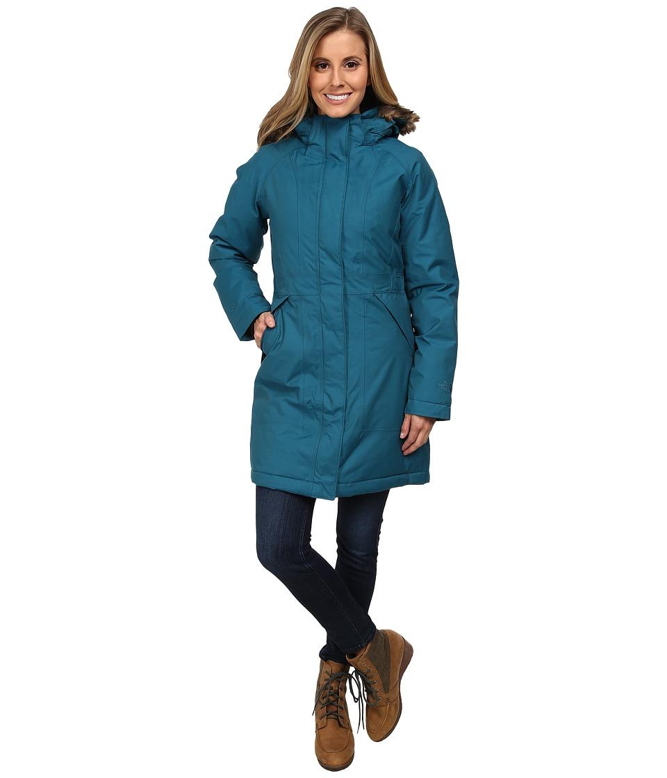 The North Face - Arctic Parka (Juniper Teal) Women's Coat