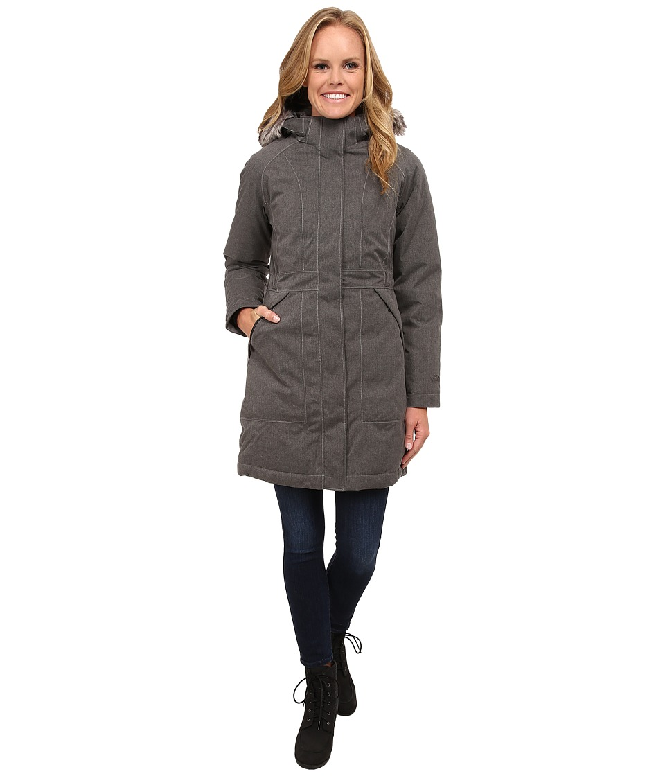 The North Face - Arctic Parka (Graphite Grey Heather) Women's Coat